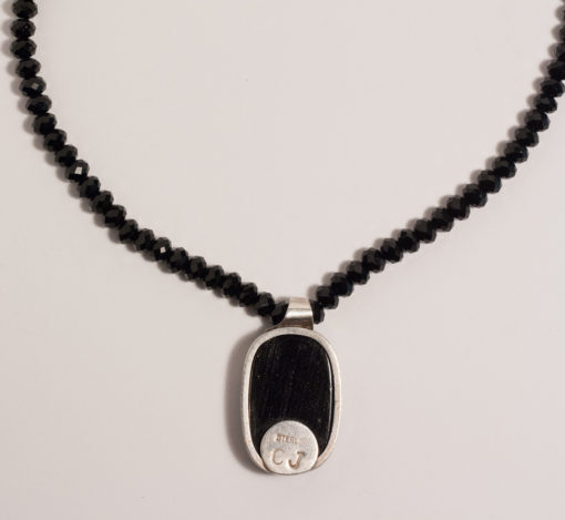 Dichroic Glass, 925 Silver, 999 Silver Black Chinese Crystals