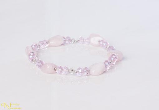 Pink Stacking Bracelet