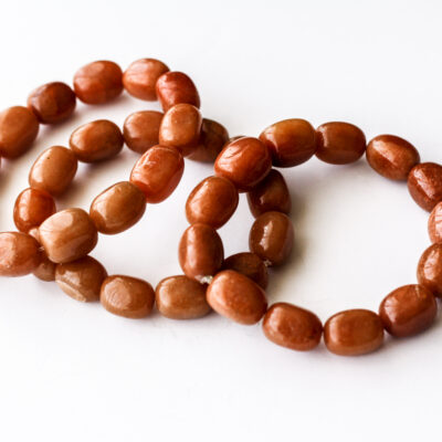 Orange Aventurine Stretch Bracelets