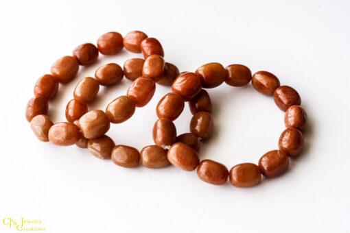 Orange Aventurine Stretch Bracelets